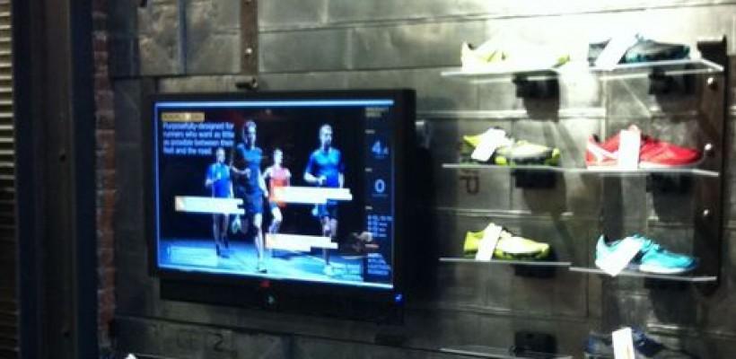 Tecnología RFID en tienda de deportes en Boston