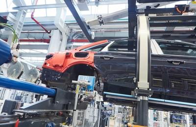 Tecnología RFID para la fabricación del Audi A8