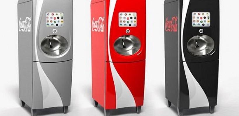 Nuevo dispensador de Coca Cola con tecnología RFID