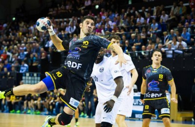 El equipo francés de handball entrena con sensores RFID portátiles.