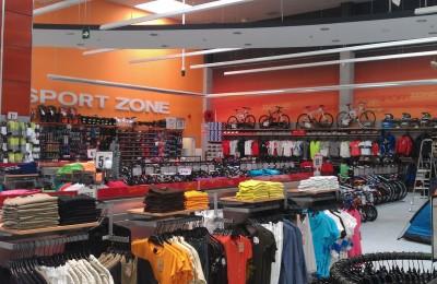 Sport Zone mejora la precisión del inventario con tecnología RFID.