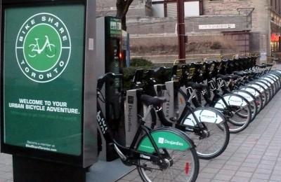 Toronto expande el programa de uso libre de bicicletas con RFID